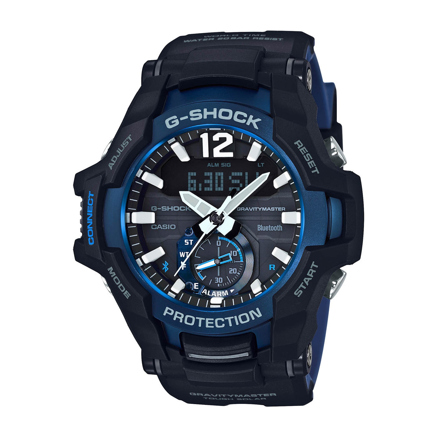 G-Shock Gravitymaster Bluetooth Solar horloge GR-B100-1A2ER
