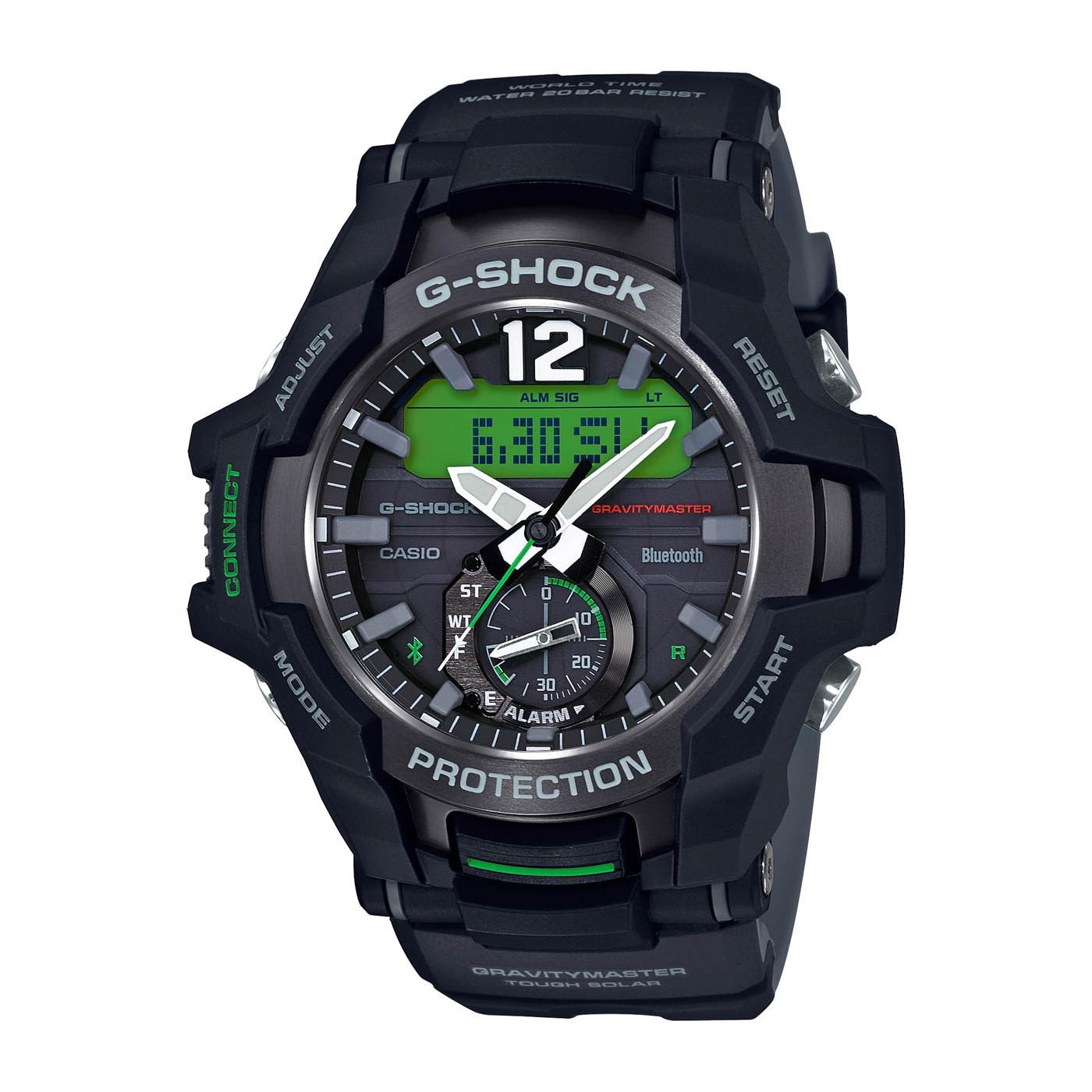 G-Shock Gravitymaster Bluetooth Solar horloge GR-B100-1A3ER