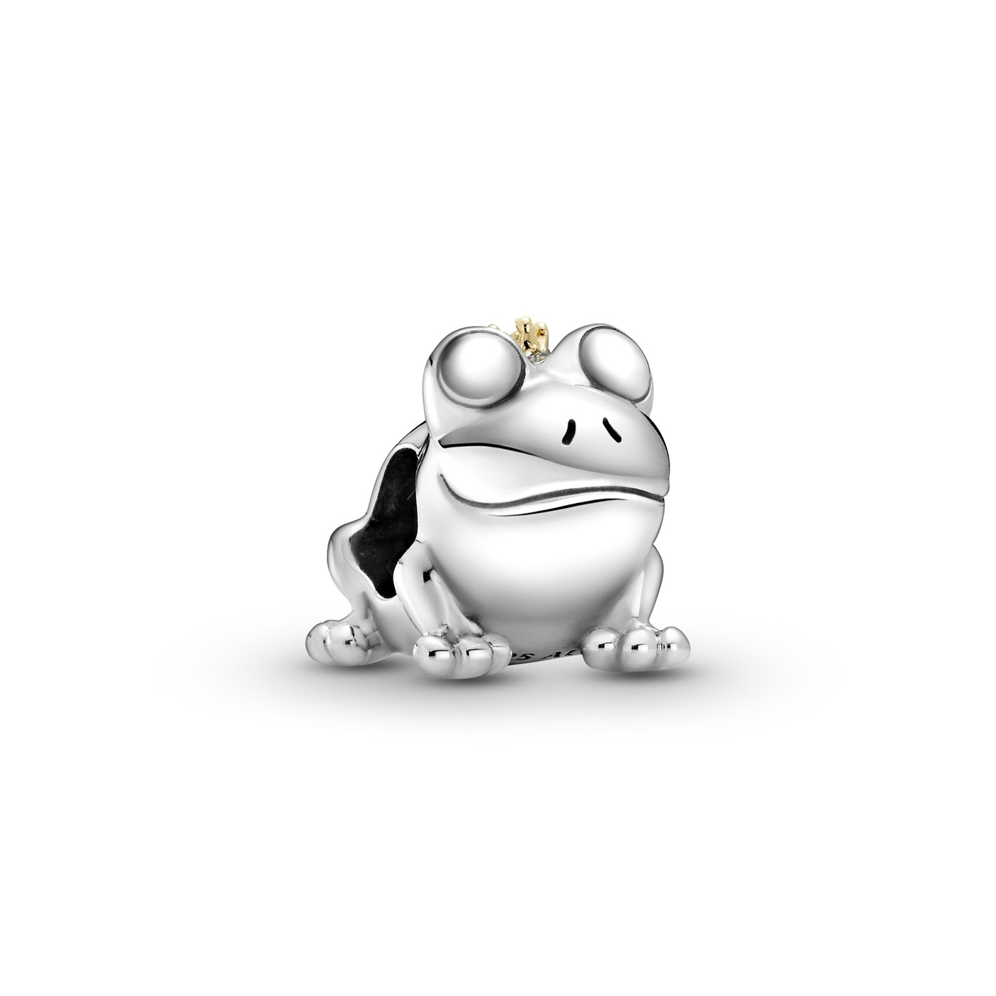 Pandora Passions Two tone - sterling silver and 14K yellow gold Two-tone Frog Prince Bedel 799342C00