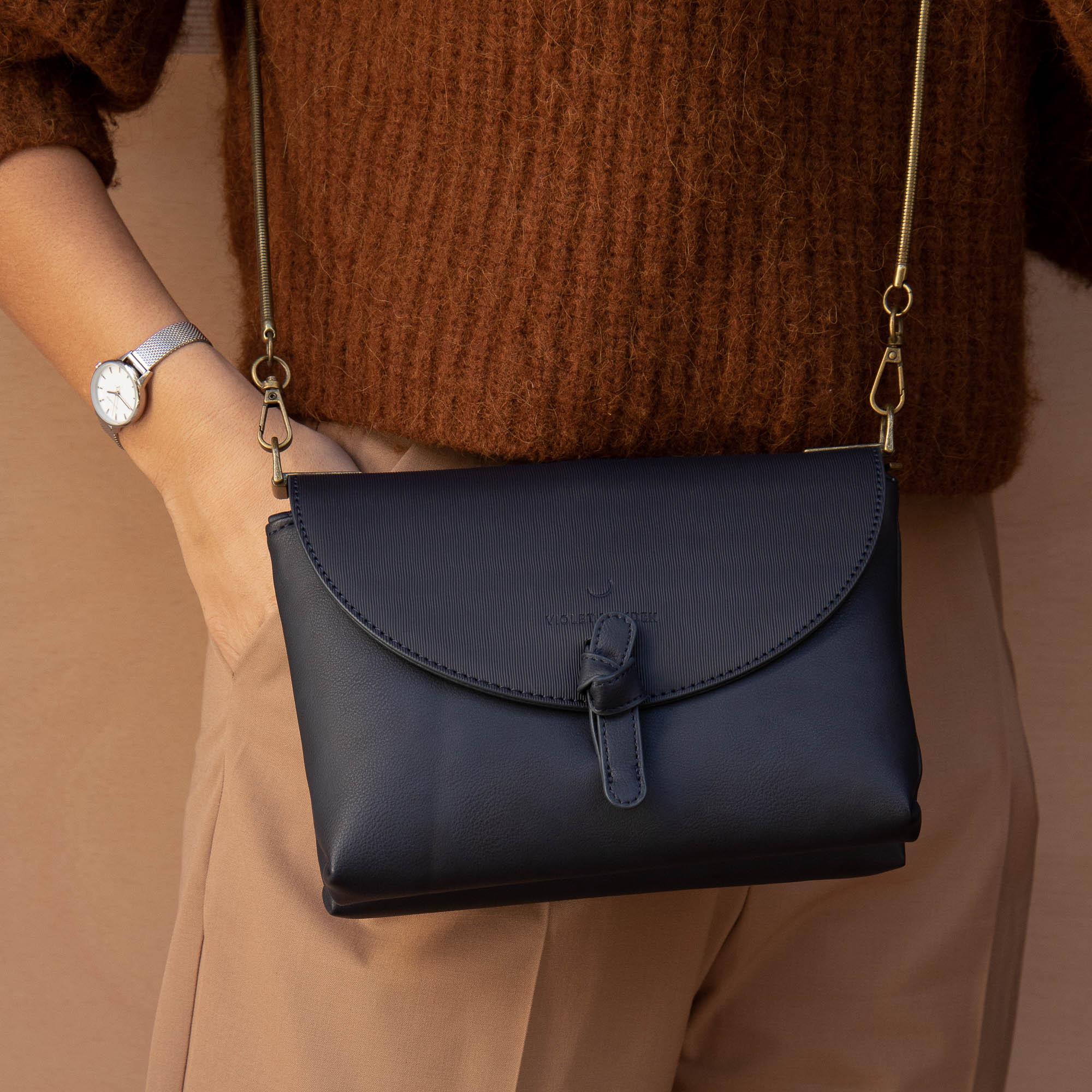 Violet Hamden Essential Bag Blue Crossbody VH22008