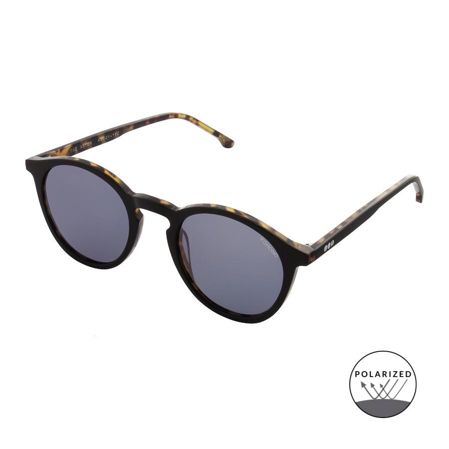 67438d3589 Komono Crafted Aston Acetate Black Gepolariseerde Zonnebril KOM-S2402 -  Sunglasses