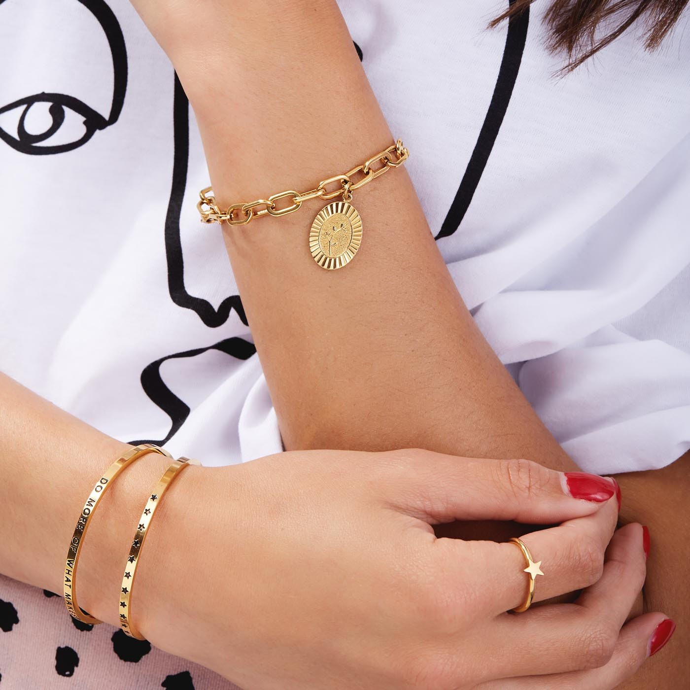 May Sparkle The Bangle Collection Stars