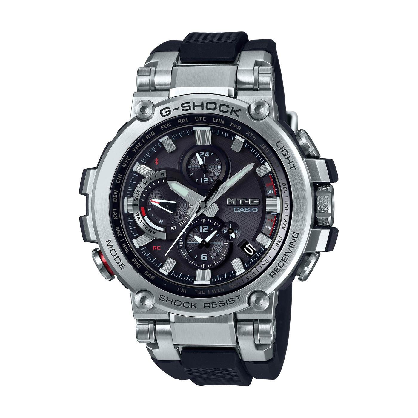G-Shock MT-G Metal Twisted Bluetooth Solar horloge MTG-B1000-1AER