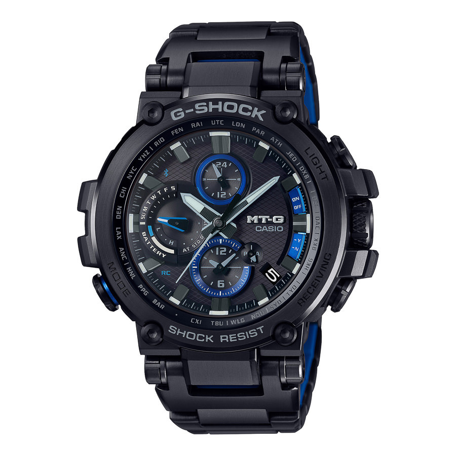 G-Shock MT-G Metal Twisted Bluetooth horloge MTG-B1000BD-1AER