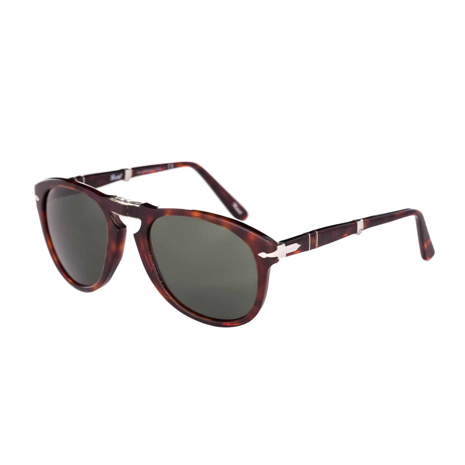 d8b2e2ca20f Persol Folding Havana Sunglasses PO0714 24 31 - Sunglasses