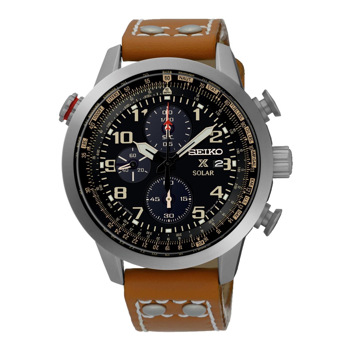 Seiko Prospex Solar Chronograph horloge SSC421P1