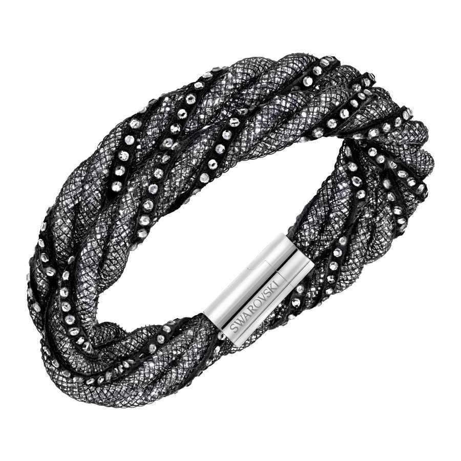 636809ef93a8 Swarovski Stardust Bracelet stardust-twist-black-armband - Jewelry