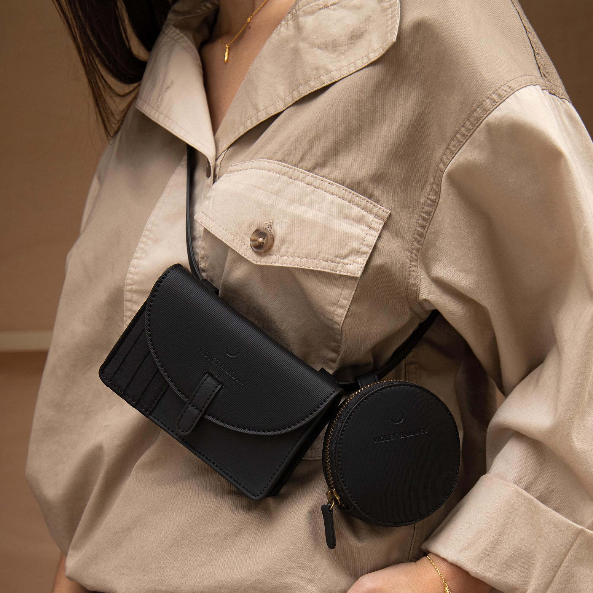 Violet Hamden Essential Bag Black Heuptas VH21003