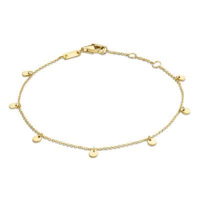Isabel Bernard 14 Karaat Gouden Le Marais Alaïs Armband IB4020752