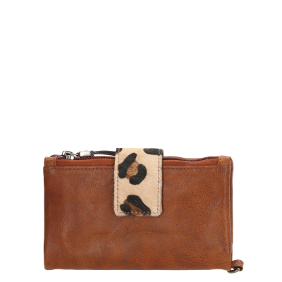 Micmacbags Wildlife Brown Ritsportemonnee 17906006