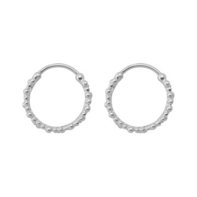 ANNA + NINA 925 Sterling Zilveren Essentials Cluster Oorbellen 18-2M902014S