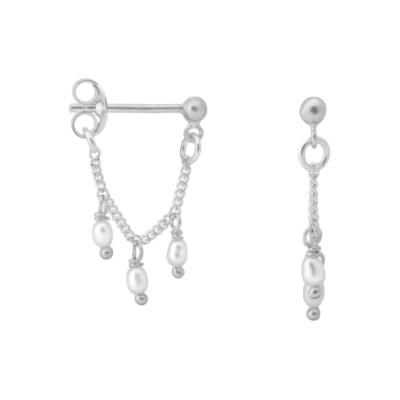 ANNA + NINA 925 Sterling Zilveren Essentials Cosmic Dust Oorbellen 18-2M902020S