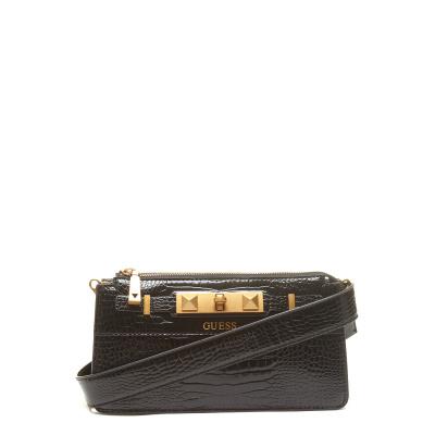 GUESS Raffie Black Mini Crossbody Tas HWCB77-60700-BLA