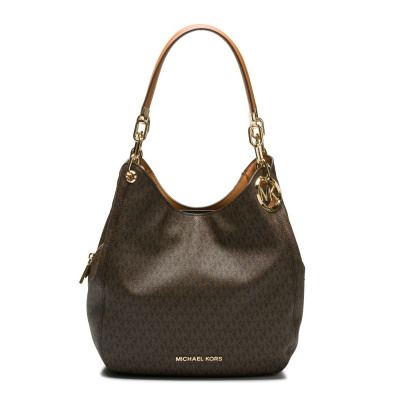 Michael Kors Lillie Brown Acorn Schoudertas 30T9G0LE3B-252