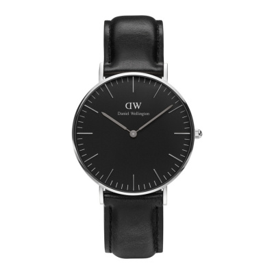 Daniel Wellington Classic Black Sheffield horloge (36 MM) DW00100145