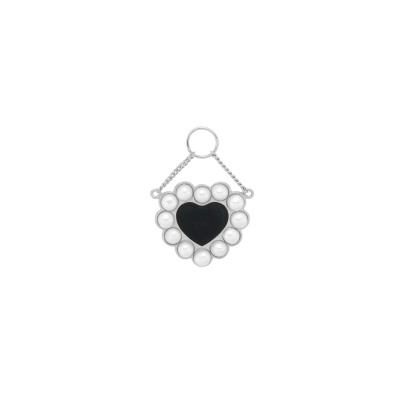 ANNA + NINA 925 Sterling Zilveren Forbidden Love Oorbedel 21-1M904004S