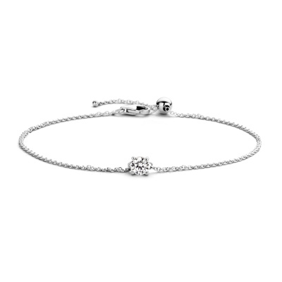 Blush 14 Karaat Witgouden Armband 2166WZI (Lengte: 18.00 cm)