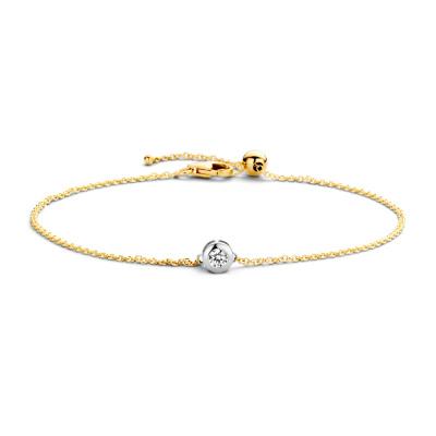 Blush 14 Karaat Gouden Armband 2167BZI (Lengte: 18.00 cm)