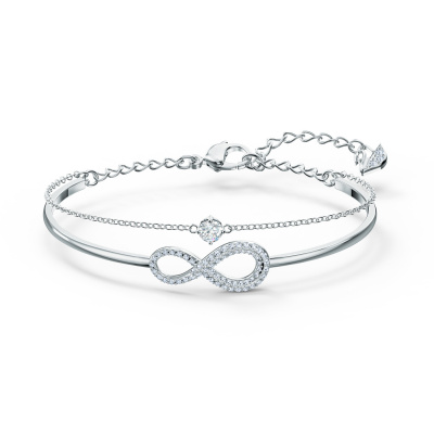 Swarovski Infinity Bangle 5520584 (Lengte: 14.00-18.50 cm)