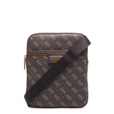 GUESS Vezzola Dark Brown Crossbody HMVEZL-P1123-DKB