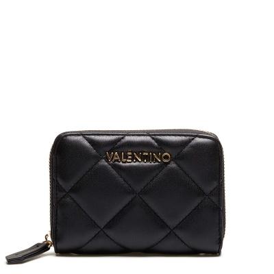 Valentino Bags Ocarina Zip Wallet VPS3KK137NERO