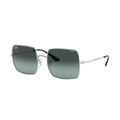 Ray-Ban Square 1971 Washed Evolve Lightblue  Zonnebril RB19719149AD54