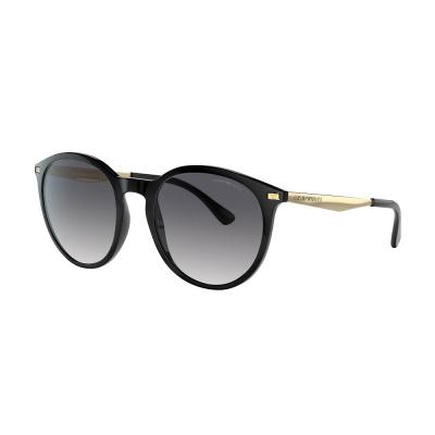 Emporio Armani Shiny Black Zonnebril EA414850018754