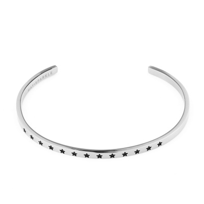 May Sparkle The Bangle Collection Stars Zilverkleurige Armband MS10013