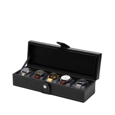Mats Meier Mont Fort watchbox black - 5 watches