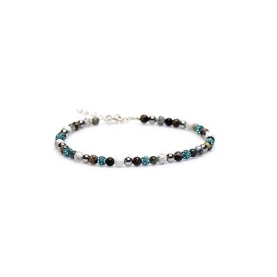 Karma Blue Lotus Enkelsieraad 89005 (Lengte: 23.00-27.00 cm)