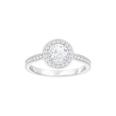 Swarovski Attract Light Round Cubic Zirkonia White Ring