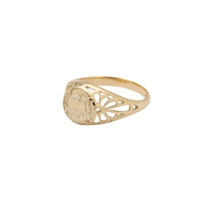 ANNA + NINA Solid Gold Ring 18-2M908040G