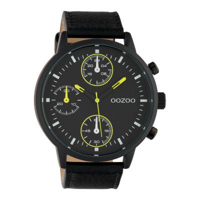 OOZOO Timepieces Zwart horloge C10534