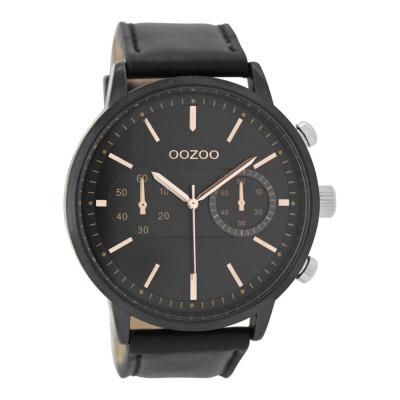OOZOO Zwart horloge C9059