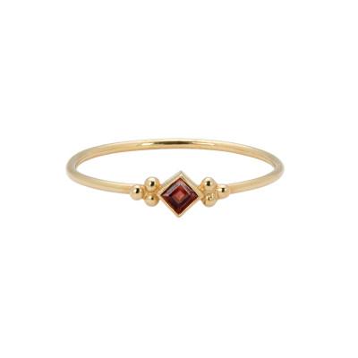 ANNA + NINA Solid Gold Ring 18-2M908073G