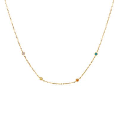 ANNA + NINA Surreal World Necklace 20-1M903010GP