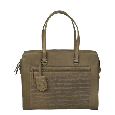 Burkely Croco Cassy Laptop Bag 1000121.29.71