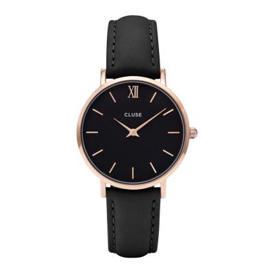 CLUSE Minuit Roségoudkleurig/Black Horloge CW0101203013