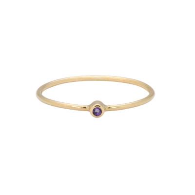ANNA + NINA Birthstone Ring 19-3M908004G