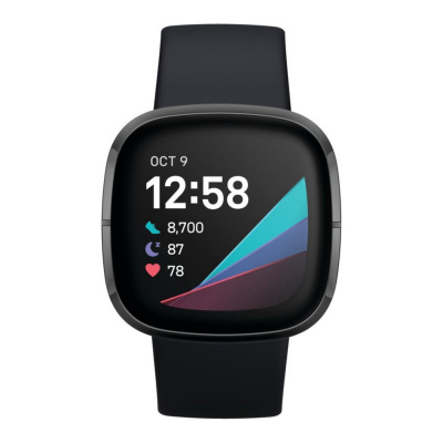 Fitbit Sense Zwart Display Smartwatch FB512BKBK
