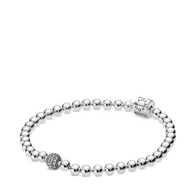 Pandora Stories Bracelet 598342CZ (Size: 17-21 cm)