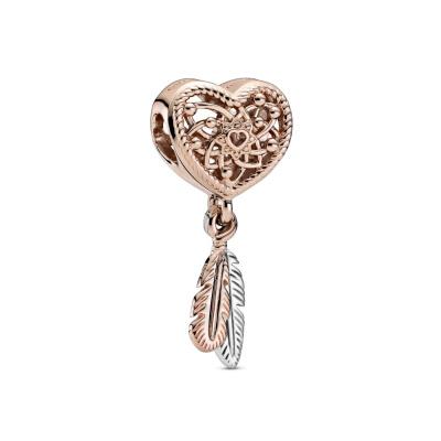 Pandora Passions 925 Sterling Zilveren Roségoudkleurige Dreamcatcher Bedel 789068C00