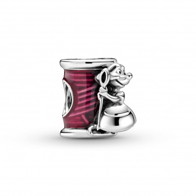 Pandora Disney 925 Sterling Zilveren Cinderella mouse, needle and thread Bedel 799200C01
