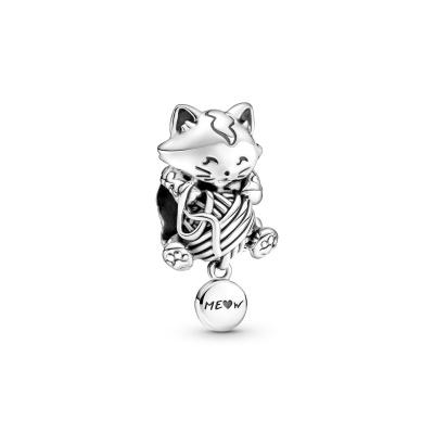 Pandora Passions Kitten & Yarn Ball Bedel 799535C00
