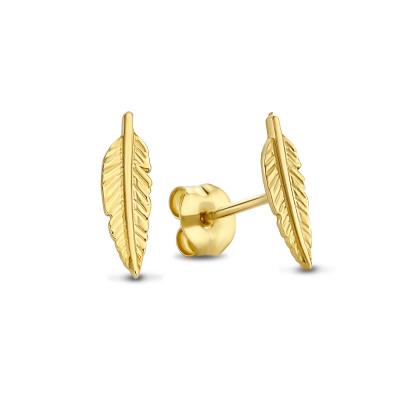Isabel Bernard 14 Karaat Gouden Monceau Giselle Oorstekers IB0101136