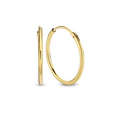 Isabel Bernard 14 Karaat Gouden Monceau Selène Creolen IB0301139