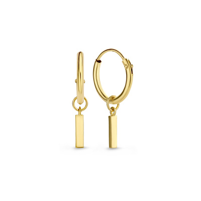 Isabel Bernard 14 Karaat Gouden Monceau Laurine Creolen IB0301194