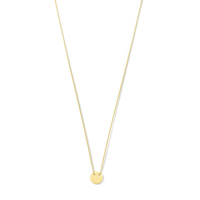 Isabel Bernard 14 Karaat Gouden Monceau Jeanne Ketting IB1001114 (Lengte: 40.00-42.00 cm)