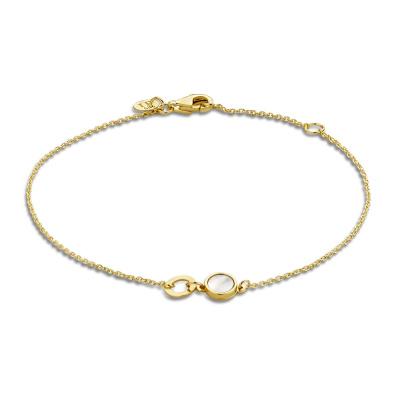 Isabel Bernard 14 Karaat Gouden Belleville Sofia Armband IB320021