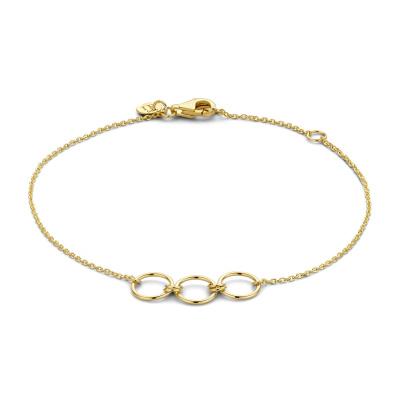 Isabel Bernard 14 Karaat Gouden Belleville Anna Armband IB320025